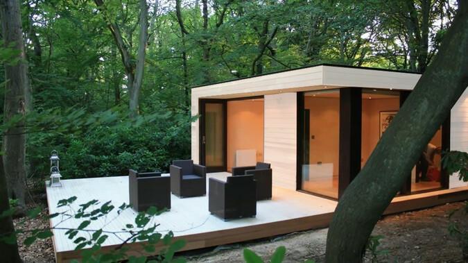 Recreatie woning kopen starline mobiele bungalows en chalets for Overdekt terras model