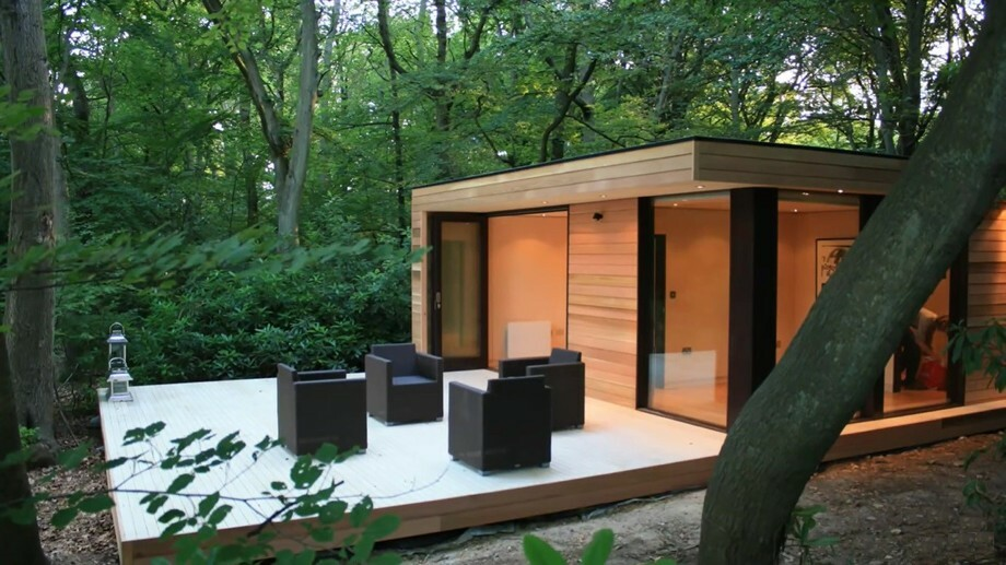 Large Wooden Garden Rooms: Starline Mobiele Bungalows En Chalets